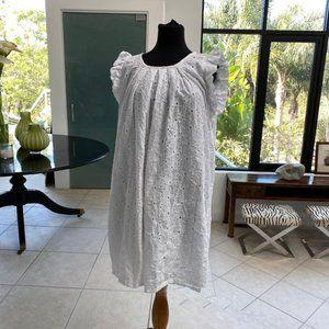 nwot White eyelet dress